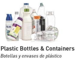 Recycle Plastic Bottles & Containers