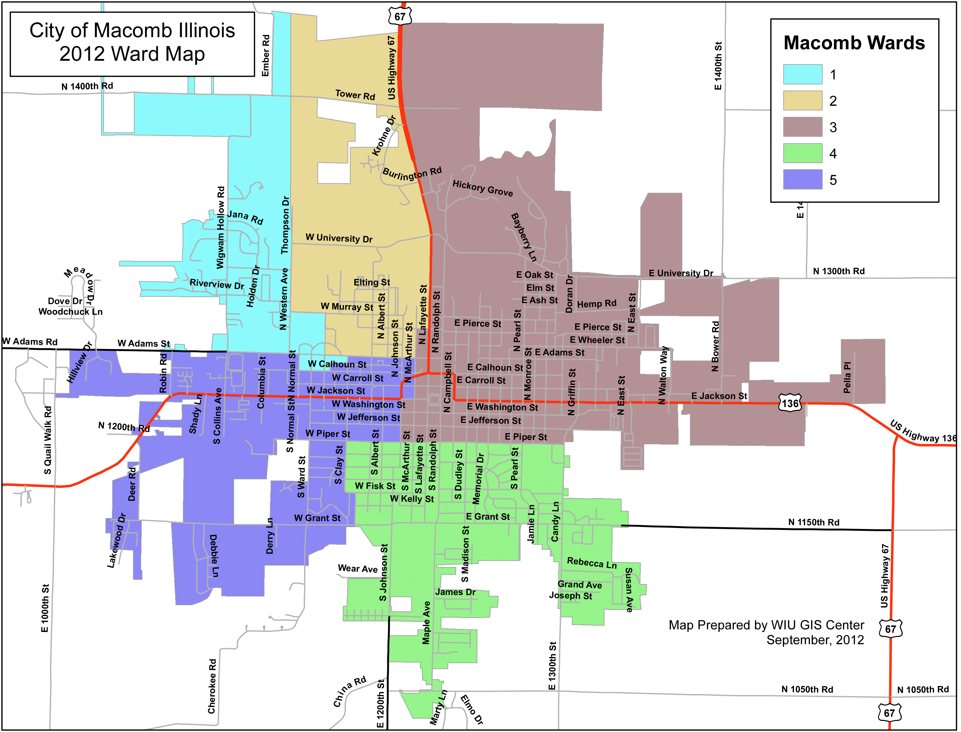 City only ward image