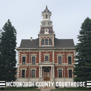 McDonough County Courthouse Macomb IL