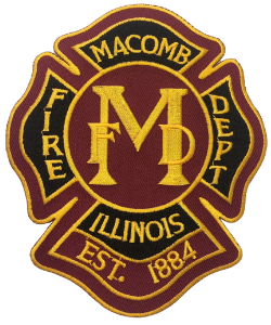 Macomb Fire Department Patch