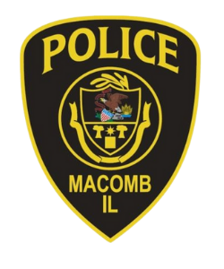 City of Macomb Police Badge
